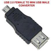 Mini to Micro USB Male