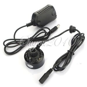 Ultrasonic-12LED-Mist-Maker-Light-Fogger-Water-Fountain-Pond-DC-24V-Power-Supply