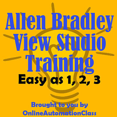 Allen Bradley Factorytalk View Studio Machine Edition Training Tutorial