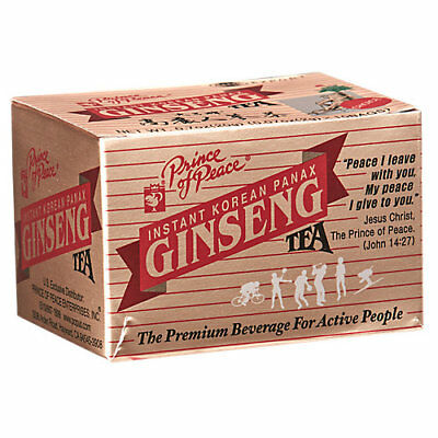 Prince Of Peace Korean Panax Ginseng Instant Tea (10 Tea