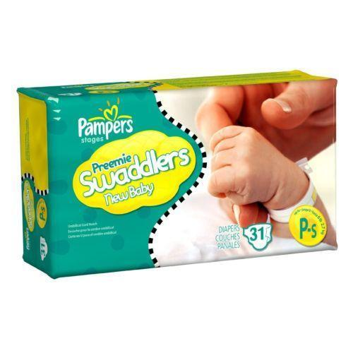 Preemie Disposable Diapers Ebay