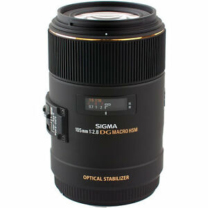 Brand New never used Sigma 105mm f/2.8 Macro (canon EF mount)