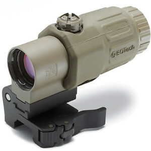 EOTech Magnifier, 3X, Tan Finish, Switch to Side G33.STS TAN