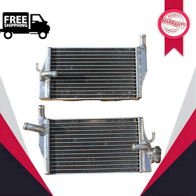 L&R ALUMINUM RADIATOR FOR 2002 2003 2004 HONDA CR250 CR250R POLISHED
