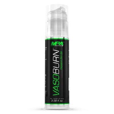 MPA VASOBURN 3.38oz Pump -Fat Burning Thermogenic Skin Gel -Fast Free Shipping!