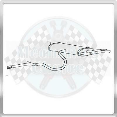 Cat Back Exhaust Assembly for Seat Altea 2.0 (01/07-12/15)