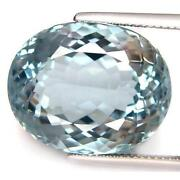 Aquamarine Oval