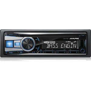 Alpine CD/MP3/AAC/WMA/iPod/iPhone Receiver (CDE152)