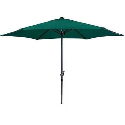 Gardensity garden parasol with winding crank and tilt function