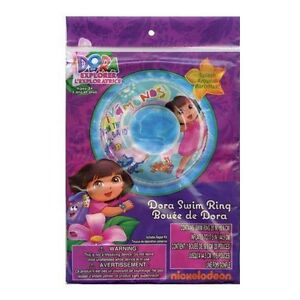 Dora-The-Explorer-Inflatable-Swim-Ring-20-New
