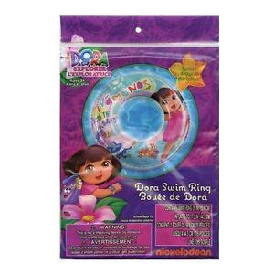 Dora-The-Explorer-Inflatable-Swim-Ring-20-New