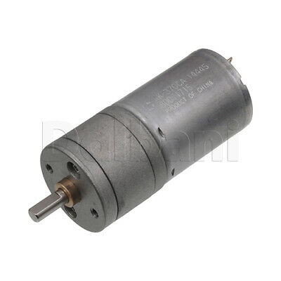 Dc Gear Motor High Torque 25ga 12v 100rpm 370 For Diy Robotics Arduino