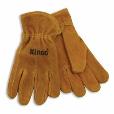 Kinco 50-y Youths Suede Cowhide Leather Driver Gloves