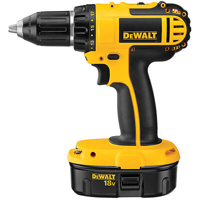 """DeWALT DC720KR 18V 1/2"""" (13mm) Cordless Compact Drill/Driver (TOOL ONLY)"""