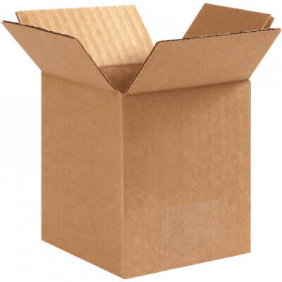 25 PACK 4 x 4 x 6 Packaging Cardboard Shipping Corrugated Boxes for mailing