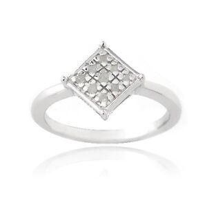 Anello-Argento-Sterling-925-Mod-Diamante-Varie-Misure-Nuovo