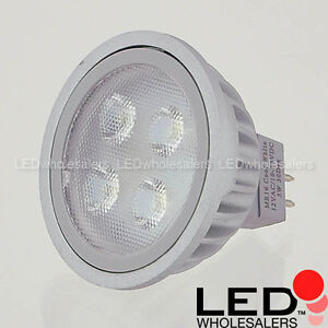 Brightest 5 Watt MR16 GU 5.3 Bi-Pin LED 12 Volt Light Bulb Spot or Wide Angle