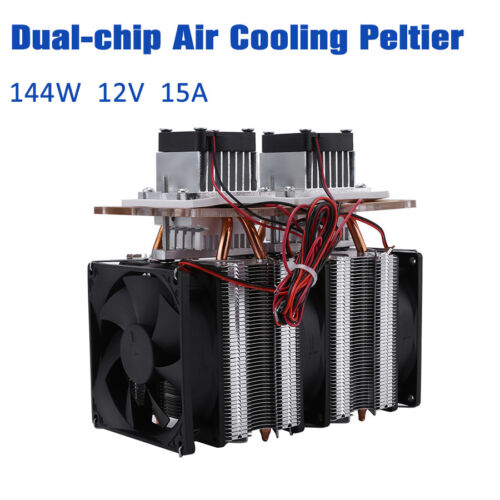 Semiconductor Refrigeration Thermoelectric Peltier Cooler Water Cooling Device S
