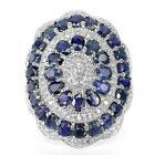 Huge Blue Topaz Rings
