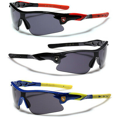 Children 8-16 Kids Youth Half Frame Sunglasses For Boys Cycling Baseball Sports - Sunglasses For Boys