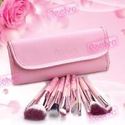 Pink Make Up Brush Set
