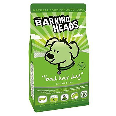 Barking Heads Dog Food Bad Hair Day Lamb 2kg