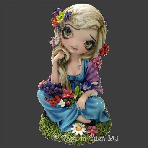 *FLORA* Ltd Edition Strangeling Resin Figurine By Jasmine Becket-Griffith (15cm)