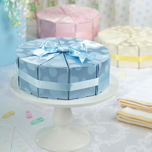 50% OFF ---- Baby Cake Box Favours