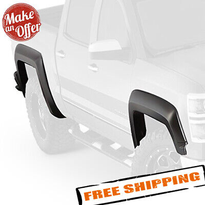 Bushwacker 40964-02 Extend-A-Fender Flares for 2014-2019 Chevrolet Silverado