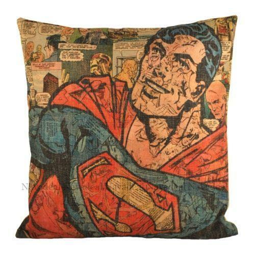 superhero pillow