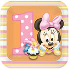 Birthday, Child Minnie Mouse Party Plates