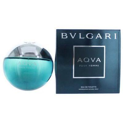Bvlgari Aqva Cologne Pour Homme by Bvlgari, 5 oz EDT Spray for Men (Aqua) NEW