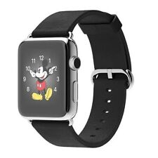  Apple WATCH 38mm Stainless Steel Black Classic Buckle (MJ312LL/A) 