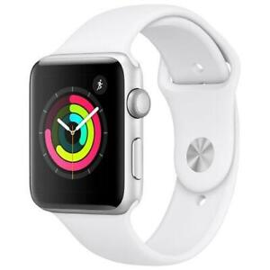 Apple Watch Series 3 (GPS) 42mm Aluminium White MTF22CL/A - WE SHIP EVERYWHERE IN CANADA ! - BESTCOST.CA