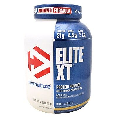 Dymatize Nutrition ELITE XT Extended Release Protein 4 lbs SUPERIOR TO CASEIN
