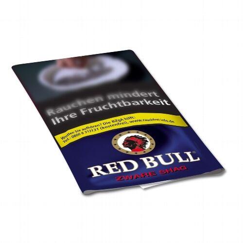 10 x Red Bull Zware Shag à 40 Gramm Zigarettentabak / Tabak
