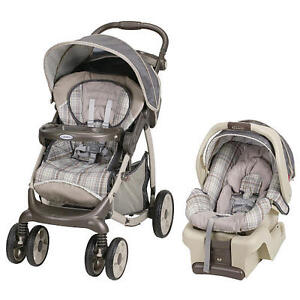 GRACO SnugRide30 Travel System with infant car seat