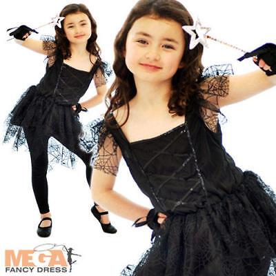Dark Spider Ballerina Girls Fancy Dress Halloween Animal Witch Kids Costume 4-12](Dark Ballerina Costumes)