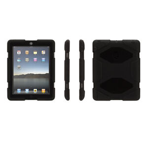 Original Griffin Survivor iPad mini 1/2/3 Case - Black, New in