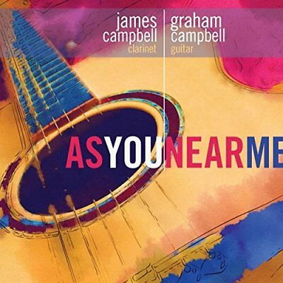 James Campbell - As You Near Me [CD]