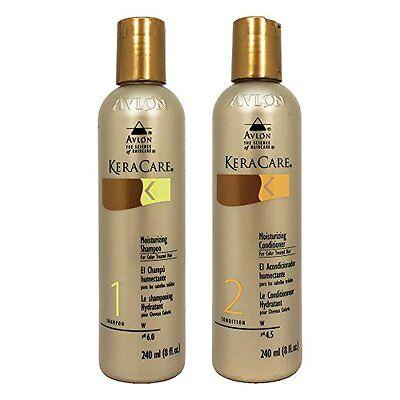 Keracare Moisturizing Color Treated Shampoo / Conditioner 8oz