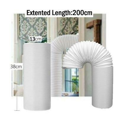 White Exhaust Hose Portable Air Conditioning Exhaust Duct 13