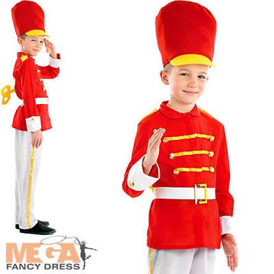 Victorian Soldier Costume (Tin Soldier Boys Fancy Dress Nutcracker Christmas Uniform Kids Childs)