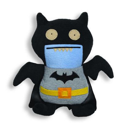 Gund Ugly Doll Dc Comics Ice Bat Batman 11  Black Uglydoll  4037971