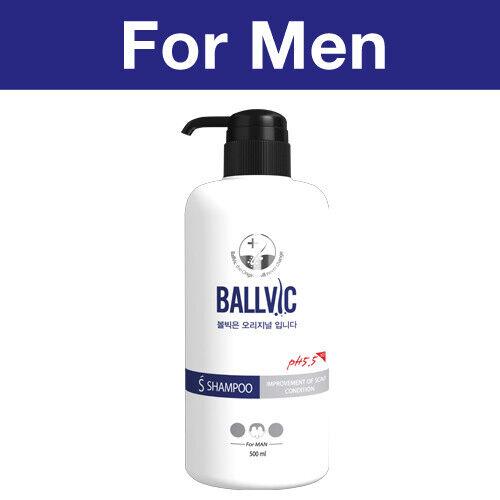 Korean Anti-Hair Loss/Regrowth for Men / S Shampoo 500g - B