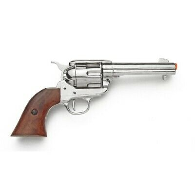 Replica Nickels - Denix M1873 Colt 45 Peacemaker Fast Draw Replica - Nickel Finish