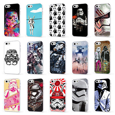 STORM TROOPER STAR WARS MOVIE WHITE PHONE CASE COVER for iPHONE 4 5 6 7 8 X