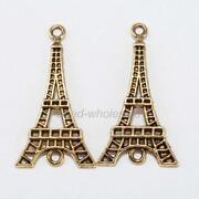 Gold Eiffel Tower Charm