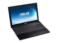 laptop asus p52f i3 quad core 6gb ram 320gb hdd