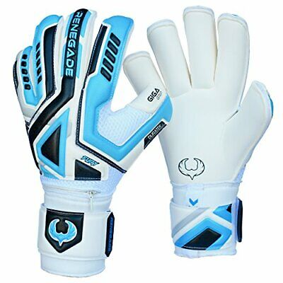 Breathable Soccer Goalkeeper Gloves w/ Pre-Arched Palm for Better Grip (Size